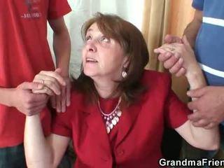 mommy, old pussy, nenek