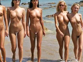 Beach Na Maraming Nakahubad