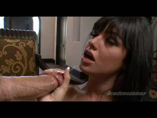 Ramdick Starving Slut Sadie West Hooks Her Mouth With A Gigantic Meatpole