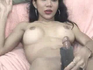 Jeje plays ar a masturbation sleeve