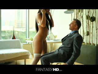 Fantasy HD: Gianna nicole fucks her boss