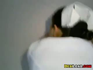 Indisch krankenschwester gefickt von hinten