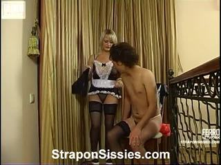Irene a jack transsexuál dressed pair