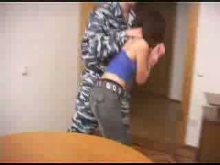 Quân đội boys hung dư thô quái một female prisoner video