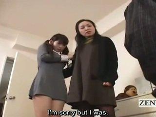 Subtitle cfnm ιαπωνικό κορίτσι του σχολείου και μητέρα που θα ήθελα να γαμήσω σύλληψη peeper
