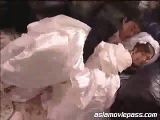 Yua aida 该 新娘 和 该 bestman