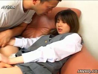 Japonesa escuela chica ami matsuda mamada y