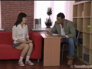 Neuken studies: russisch tiener eva interraciaal anaal