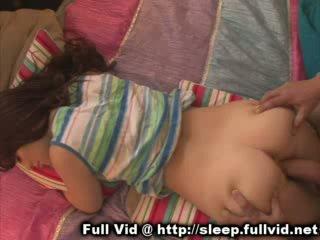 Dormire giovanissima facciale