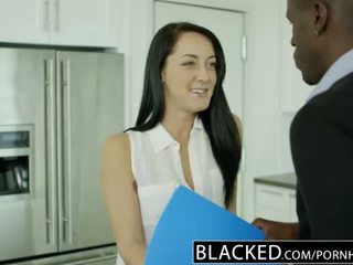Blacked สามี does ไม่ ทราบ เมีย sabrina banks loves bbc