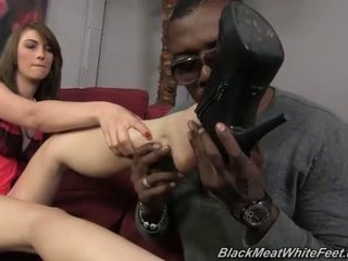 Alana Rains fucking black cock