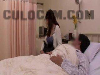 Hospital roll spela exhibitionist avsugning stor asiatiskapojke klantskallar