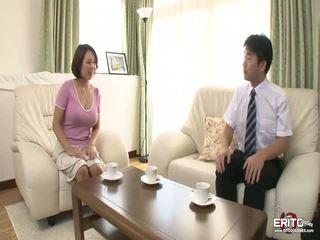 มหาศาล หน้าอก ญี่ปุ่น wifey anna gets ระยำ และ creampied