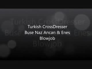 Turks buse naz arican & gokhan - zuigen en neuken