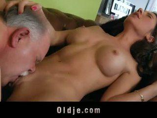 pussyfucking, целуване, стар