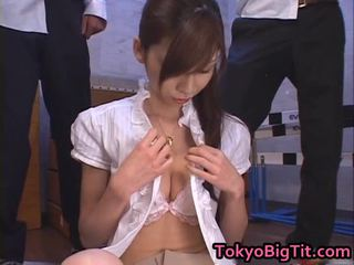 Anal creampie nemfomanyak rina tomoa receives sprayed