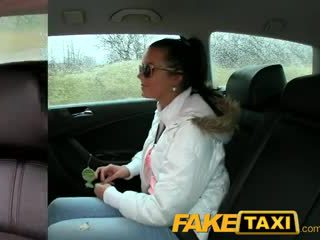 FakeTaxi Hot 19 year old in taxi cab scam