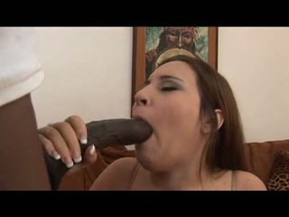 brunette, blowjob, from behind