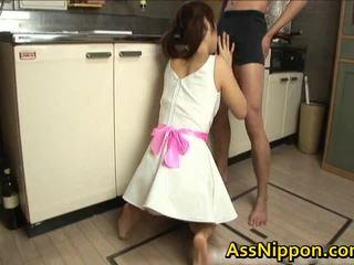 Ann takamiya anal creampie floozy enjoys getting