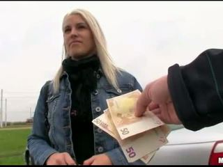 Czech girl stuffed by stranger for cash