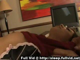 Κοιμώμενος/η έφηβος/η μουνί