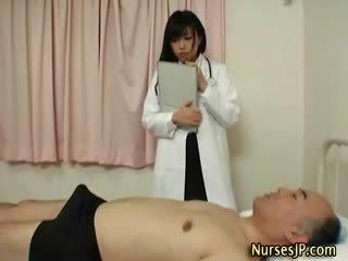japansk, exotiska, sjuksköterskor