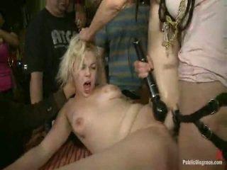 sexo en público, sexo bondage, disciplina