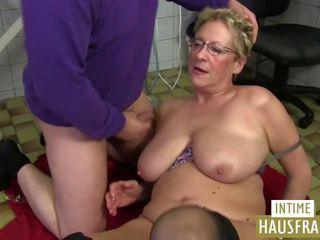 Oma putz: intime hausfrauen & pinxta πορνό βίντεο