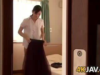 Japonesa esposa gets follada
