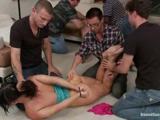 hardcore sex, nice ass, penetrasi ganda