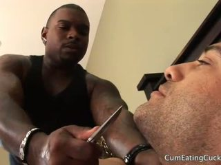 Hubby Tied and Teased While Kimberly Enjoys a BBC