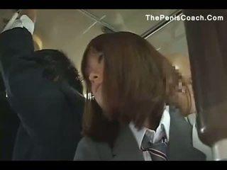 Skol has till ge en avsugning i en tåg