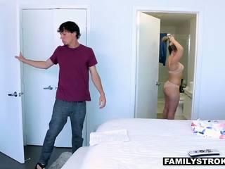 FamilyStrokes - Step-Son Seduces By Hot Milf