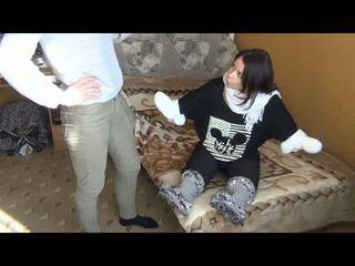 Quad orang kurang upaya -tiada tangan atau kaki fuzzy sarung kaki, percuma amatur lucah 71