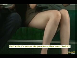Rio Innocent Chinese Girl Is Fucked On The Bus
