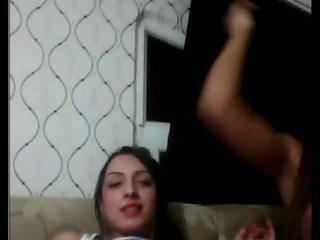 Turečtina tgirls hrát s každý další na vačka