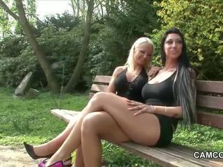 2 vācieši tīņi jāšanās publisks uz park ar voyeur
