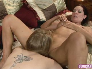 Madison Young suck the cunt of hottie milf
