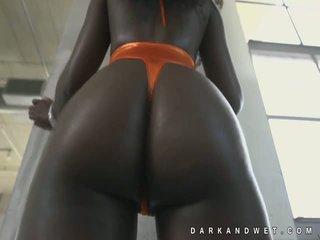 Jamaica fin mörk svart baben het reta