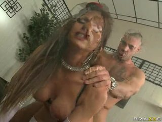 Sexy And Busty Chick Lezley Zen In Hardcore Cock Fuck