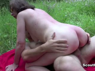 Nemes eje tutulan daşda and fuck by young oglan