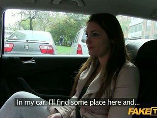 Grande mamas amadora enganada por um taxi