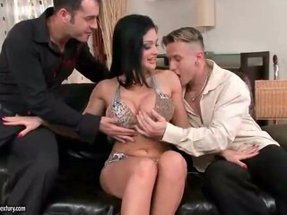 Aletta ocean enjoys sex mit two guys