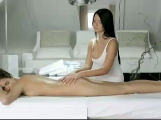 Silvie і addison масаж кожен кицьки