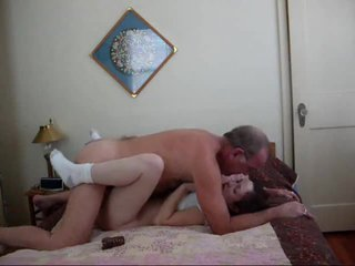 Whore Gets Fucked By Old Man