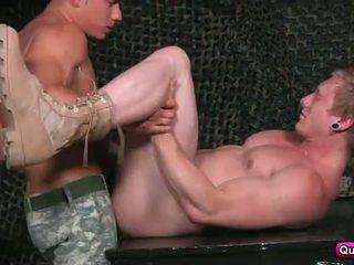 guy, hunk, military