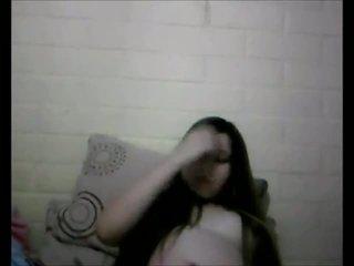 Impressionante incinta giovanissima webcam spettacolo
