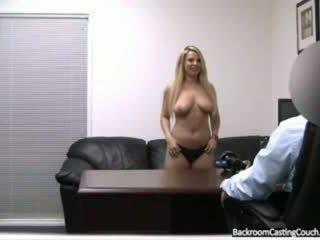 बड़े स्तन, सह, पहली बार
