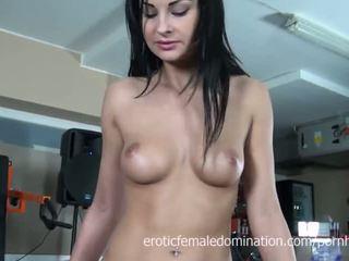 brunette, thủ dâm, euro