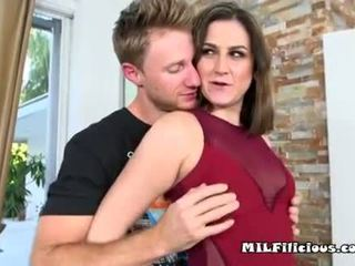 Hot Mom Addie Gets On Top Young Hunk Neighbor